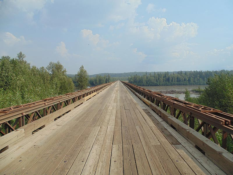Fort Nelson bridge