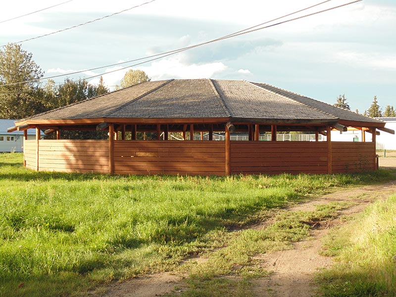 Pow-wow centre