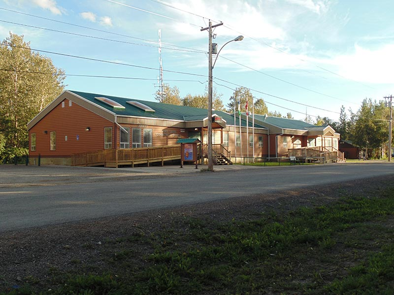 Fort Liard town office